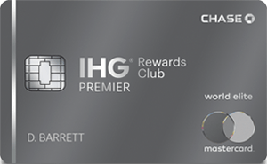 IHG Premier credit card art