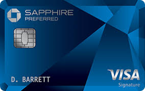 the chase sapphire preferred Visa credit card