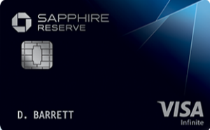 chase sapphire reserve card art