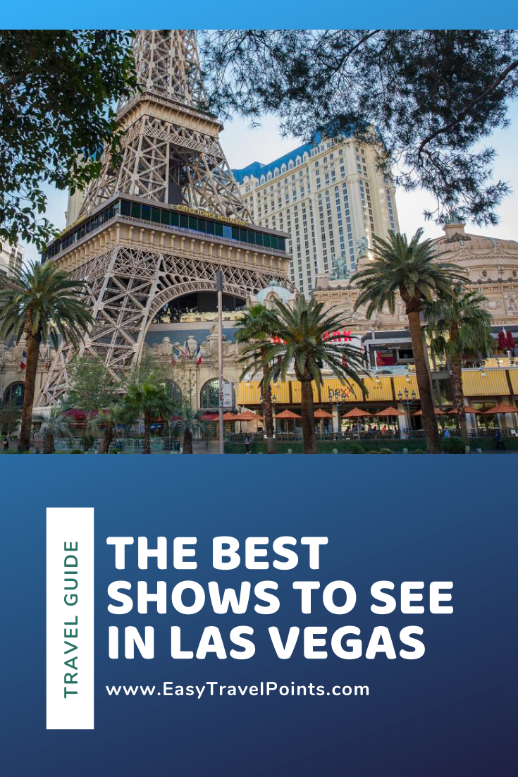 These are the best Las Vegas shows that everyone has to see when they're in town. These shows are unlike anything you will see anywhere else in the world! #bestlasvegasshows #bestlasvegasmagicshow #bestlasvegascirquedusoleilshow #bestlasvegasshowsforkids #lasvegastravelguide