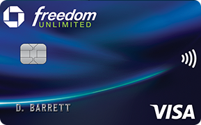 chase freedom unlimited card art