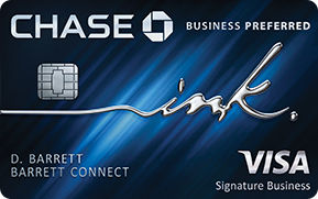 chase ink business preferred card art
