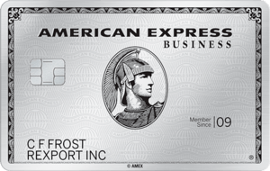 AMEX business platinum credit card art