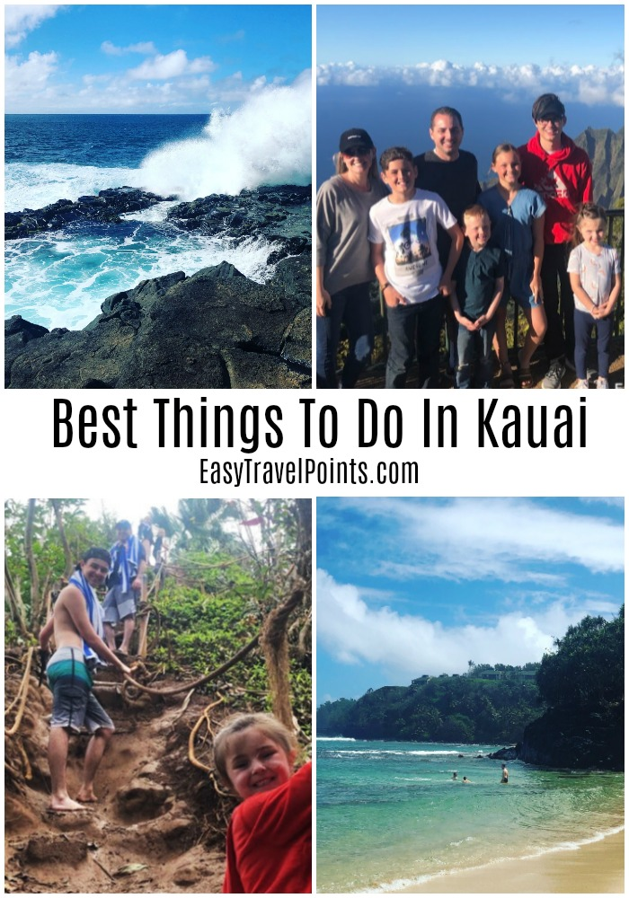 These are 15 of our favorite things to do in Kauai. From exploring Kauai's natural beauty, to relaxing on the beach, there's something for everyone! #thingstodoinkauai #whattodoinkauai #bestbeachesinkauai #kauaiactivitiesforkids #thingstodokauaihawaii