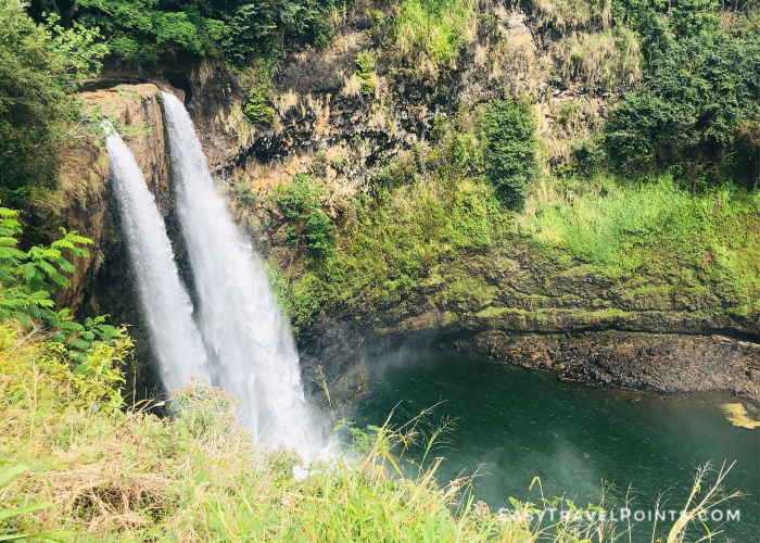 Wailua Falls in Kauai Hawaii