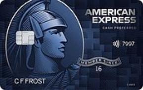 AMEX blue cash preferred card art