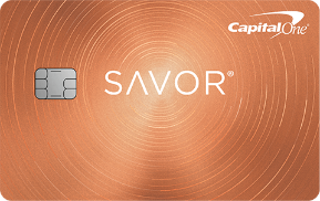 capital one savor card art