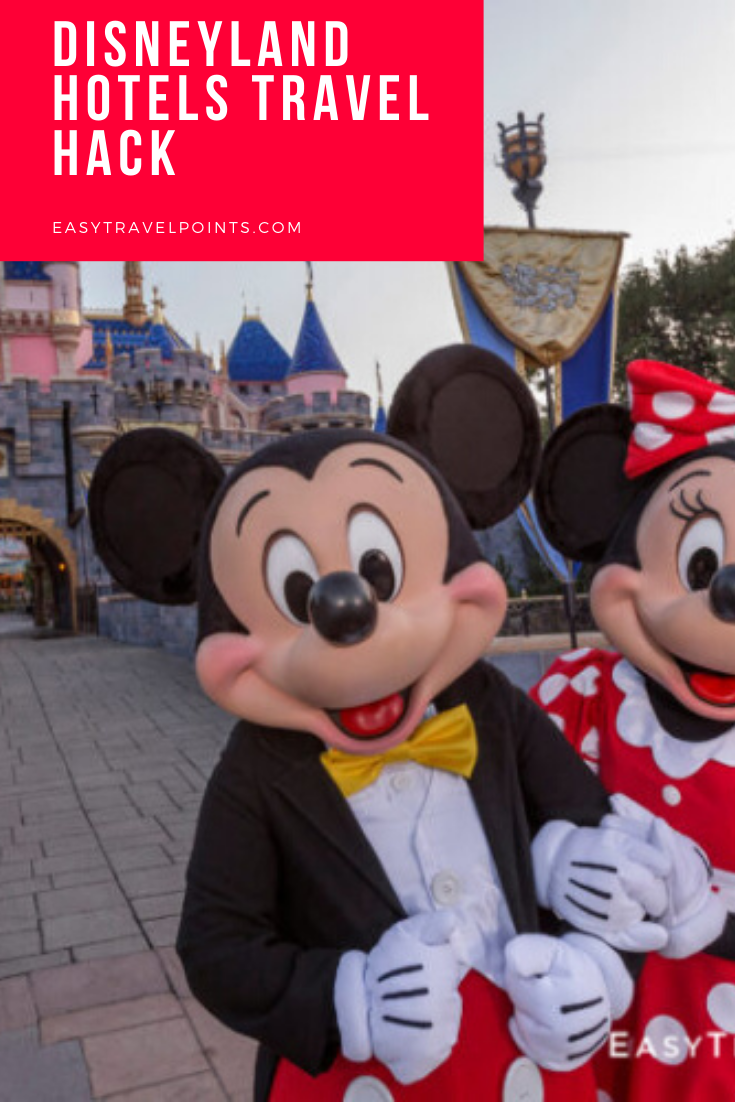 Everything you need to know to book Disneyland hotels with points so you can have free rooms and save a ton of money on your next Disney vacation! #disneylandhotels #bestdisneylandhotels #howtobookdisneylandhotelswithpoints #disneytravelhacks #howtosavemoneyondisneylandhotels