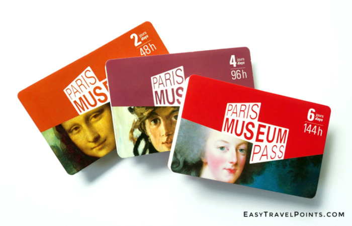 Paris Museum Pass art