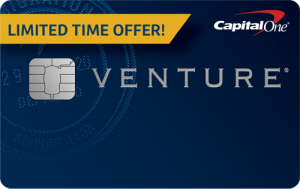 capital one venture limited time card art