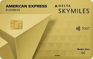 Delta American Express Gold Business Card Art