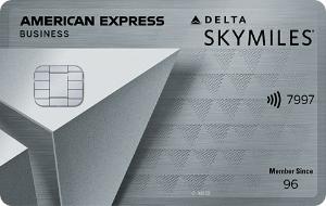 Delta American Express Platinum Business Card Art