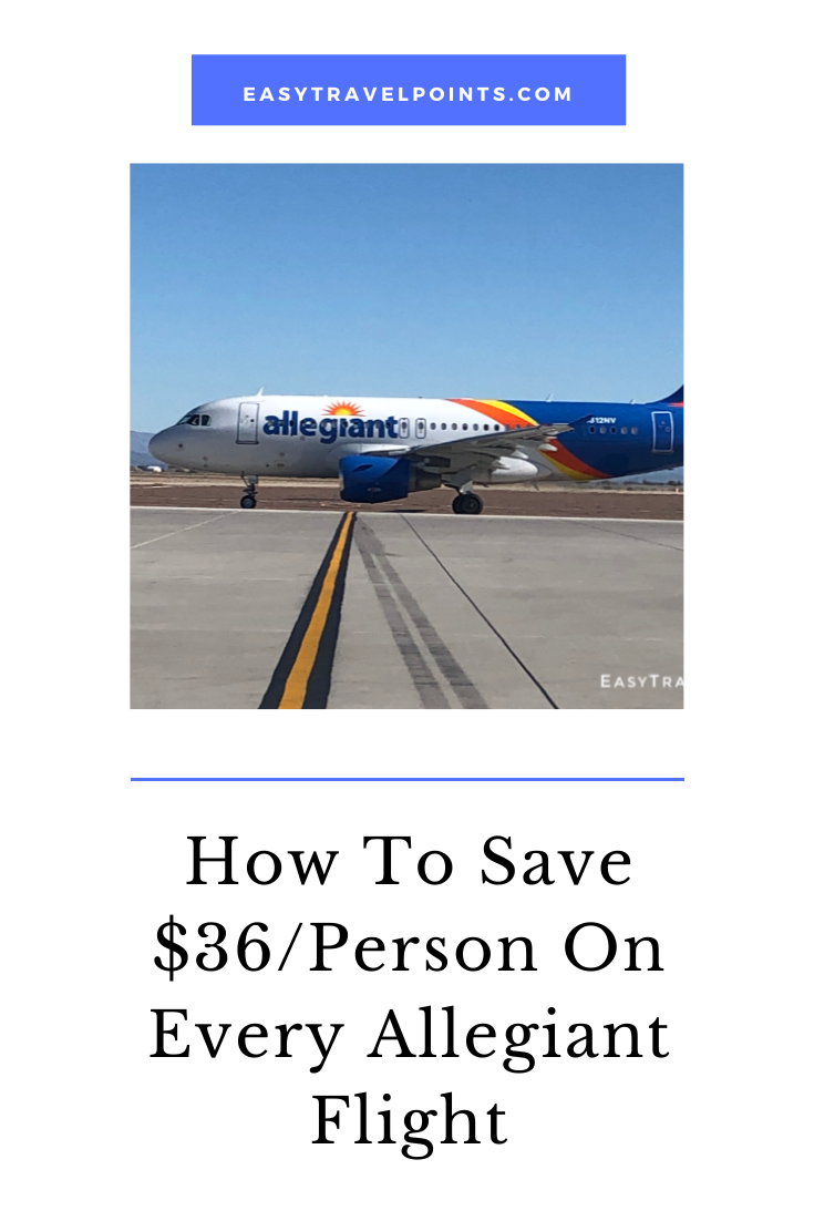 Allegiant Air tickets are cheaper when you buy them at the airport. I'm going to show you why that is and how you can save $36 per person roundtrip on every flight. #allegiantair #allegiantairtips #tipsforflyingallegiant #howtosavemoneyonallegianttickets #allegiantairlines