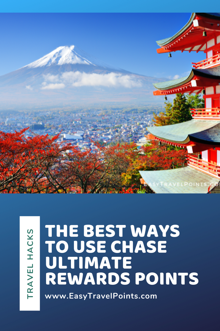The Chase Ultimate Rewards program is one of the best out there.  I think they have so much value and flexibility, it's impossible to have too many of them. With so many great ways to use them, it can be tough to narrow it down.  Here are what I think are some of the best ways to use your Ultimate Rewards points. #waystouseultimaterewardspoints #bestwaystoredeemulimaterewards #chaseultimaterewards #howtoredeemyourcreditcardpoints #bestpointredemptions