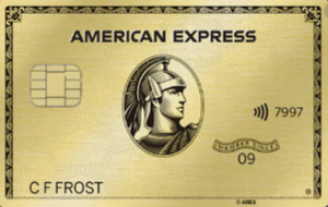 American Express Gold credit card art