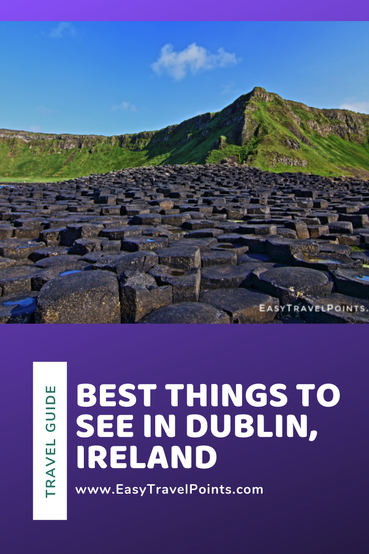 These are the best things you can do while you're in Dublin. Each one is must-see and will make your trip to Ireland unbelievably memorable! From ancient monuments, to natural beauty, to pub crawls, there's something for everyone to do in Dublin. #dublinireland #dublinirelandtravel #thingstodoindublinireland #thingstodoindublin #bestthingstododublin