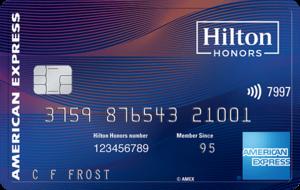 American Express Hilton Honors Aspire card art