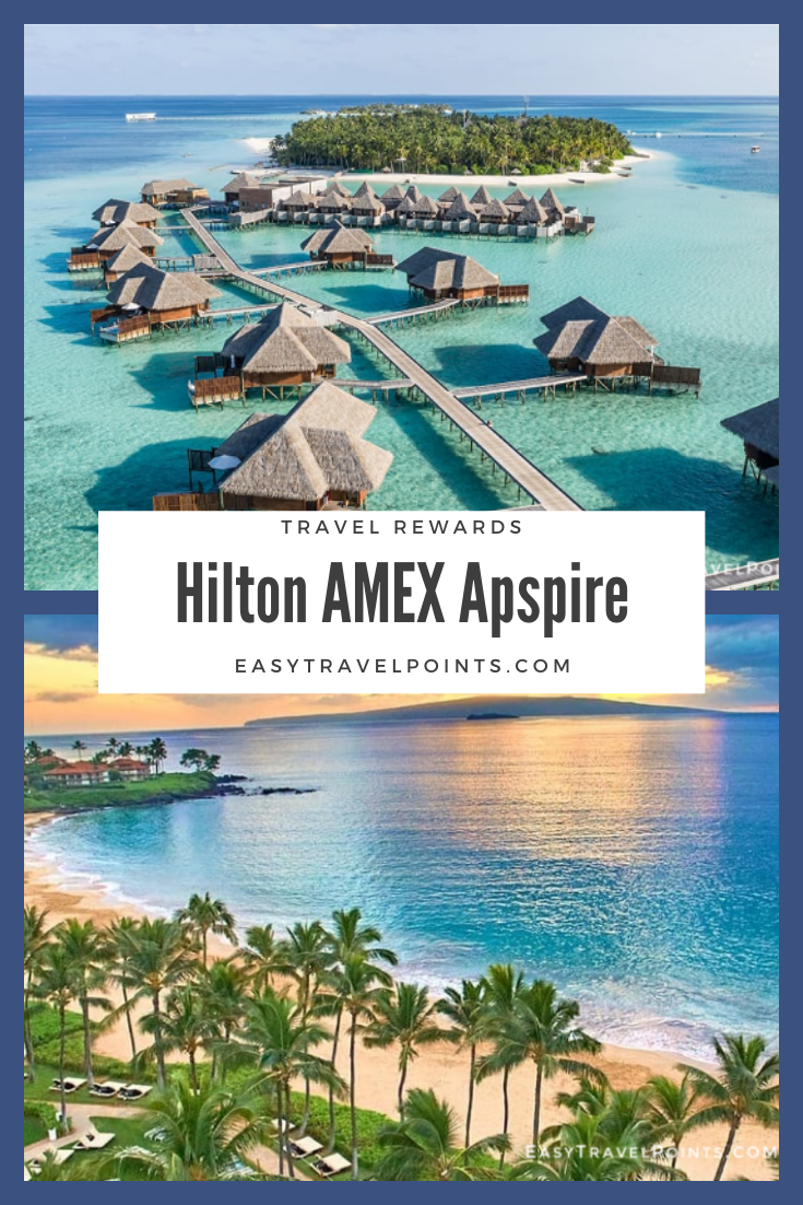 The American Express Hilton Honors Aspire card is a fantastic card that comes with a lot of valuable perks. You can earn free nights at some of the best resorts in the world quickly and easily. Here's everything you need to know about the card and why you should have it. #travelhacking #amexhiltonaspirecard #freehotelnights #traveltips #freetravel