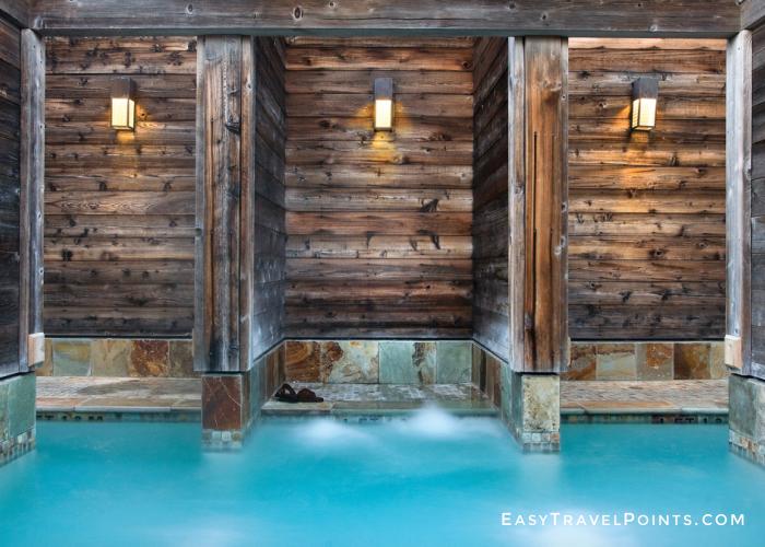 Japanese baths at Ventana Big Sur