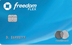 chase freedom flex card art
